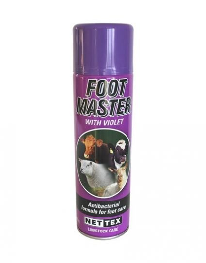 Foot Master Spray with violet