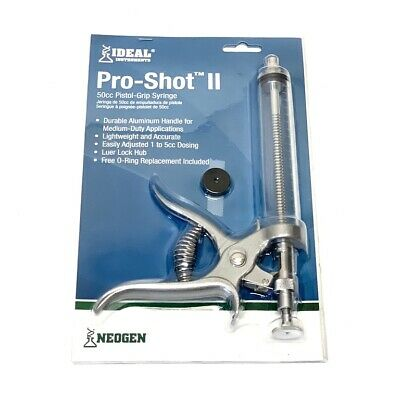Ideal Pro-Shot II Syringe